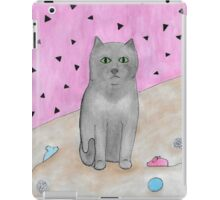 Bored Cat with Toys iPad Case/Skin