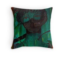 Third eye waking Throw Pillow