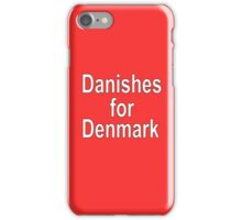 Danishes for Denmark iPhone Case/Skin
