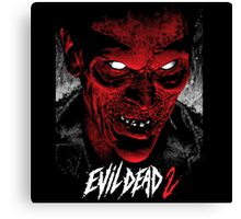 Evil dead face Canvas Print
