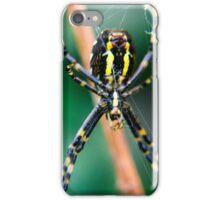 Wasp Spider At Work iPhone Case/Skin