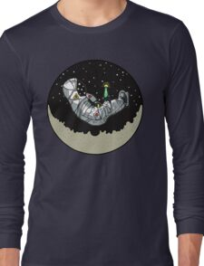 Astronaut Lazy Time In The Moon Long Sleeve T-Shirt