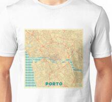 Porto Map Retro Unisex T-Shirt