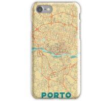 Porto Map Retro iPhone Case/Skin