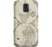 Vintage Map of The World (1680) Samsung Galaxy Case/Skin