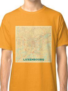Luxembourg Map Retro Classic T-Shirt