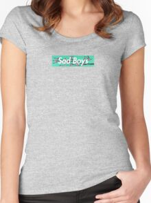 Sad Boys arizona ice tea supreme logo Women's Fitted Scoop T-Shirt