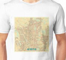 Kyoto Map Retro Unisex T-Shirt