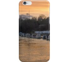 Flood at Sunset iPhone Case/Skin