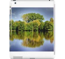 forest mirroring iPad Case/Skin