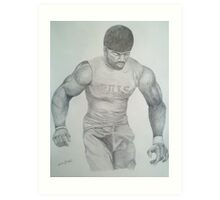 Terrence McGee #24 - Buffalo Bills Art Print