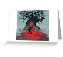Witcher - LandScape Greeting Card