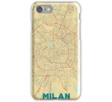 Milan Map Retro iPhone Case/Skin