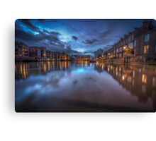 Reflections On The Ouse Canvas Print