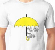 HIMYM - Yellow Umbrella Unisex T-Shirt