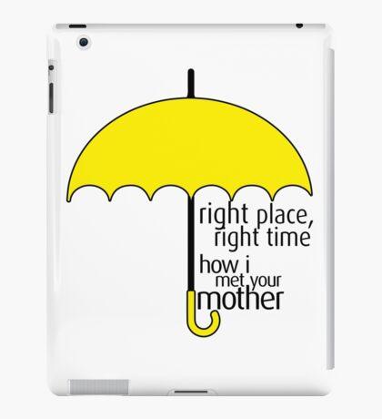 HIMYM - Yellow Umbrella iPad Case/Skin