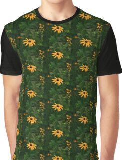 golden flower Graphic T-Shirt