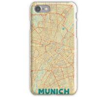 Munich Map Retro iPhone Case/Skin