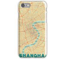 Shanghai Map Retro iPhone Case/Skin