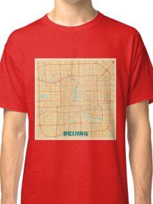 Beijing Map Retro Classic T-Shirt