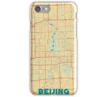Beijing Map Retro iPhone Case/Skin