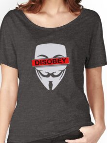 not obey Women's Relaxed Fit T-Shirt