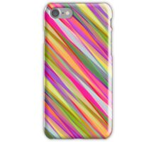 Colored Lines Abstract geometric pattern iPhone Case/Skin