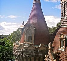 Turrets at Rockport Castle, 1000 Islands, NY, USA by Shulie1