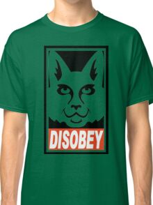 obey not obey disobey Classic T-Shirt