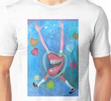 Corazón de fútbol por Diego Manuel  Unisex T-Shirt