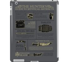 The Hunters Guide to Mystical Artifacts iPad Case/Skin