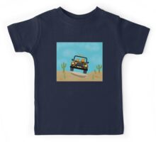 Cats - Camouflage - Off Road Kids Tee