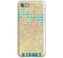 Sydney Map Retro iPhone Case/Skin