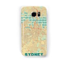 Sydney Map Retro Samsung Galaxy Case/Skin