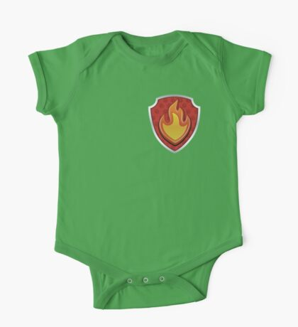 Marshal - Fire Pup-tag One Piece - Short Sleeve