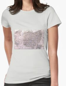 Vintage Map of Ohio (1884)  T-Shirt