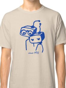 Robots groom and bride 1972 jubilee Classic T-Shirt