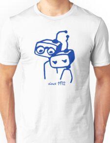 Robots groom and bride 1972 jubilee Unisex T-Shirt