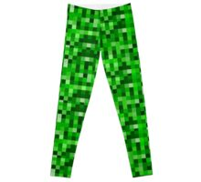 8-Bit Green  Leggings