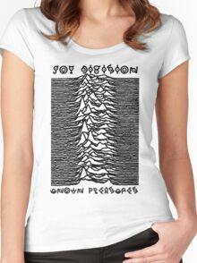 Unown Pleasures Women's Fitted Scoop T-Shirt