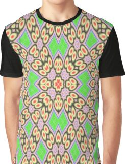 Circle and square pattern Graphic T-Shirt