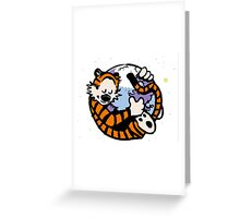 The Calvin and Hobbes Firefox Greeting Card