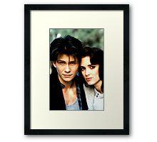 JD & Veronica Framed Print