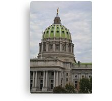 Pennsylvania State Capital #1 Canvas Print