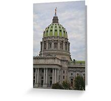Pennsylvania State Capital #1 Greeting Card