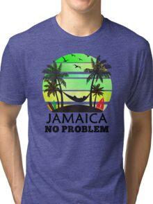 Jamaica No Problem Tri-blend T-Shirt