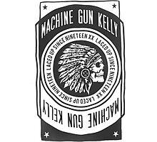 machine gun kelly Photographic Print