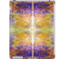 Beautiful Vibrant Cross in Yellow and Purple iPad Case/Skin