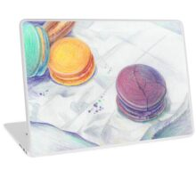 Bright multicolored macaroons Laptop Skin
