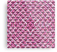Pink lights and shadows Metal Print